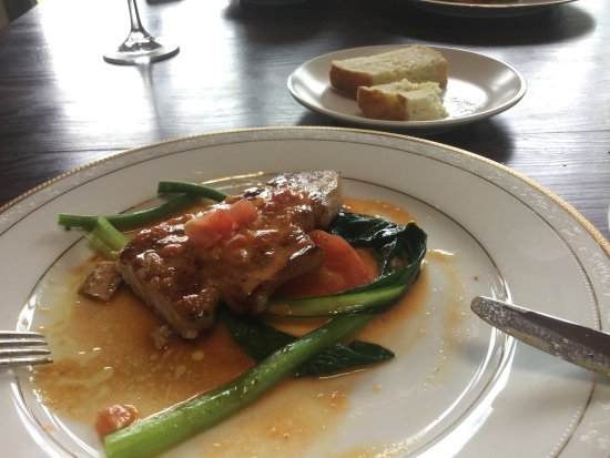 Amami, Japan: 島豚のステーキ