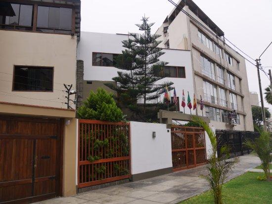 Casa Bella Miraflores: Eingang