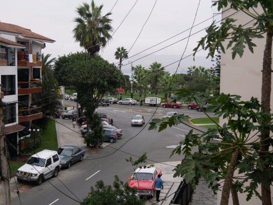 Casa Bella Miraflores: Aussicht auf Promenade Miraflores