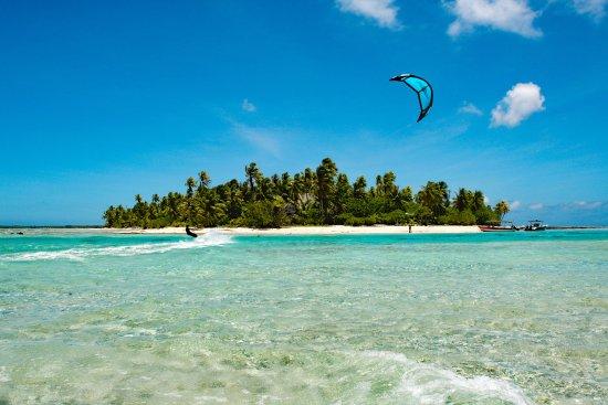 Tikehau Ninamu Resort: World class kitesurfing