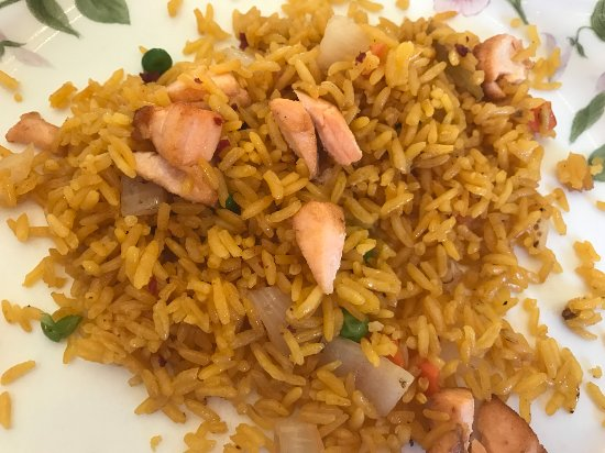 Elkton, MD: Salmon Fried rice
