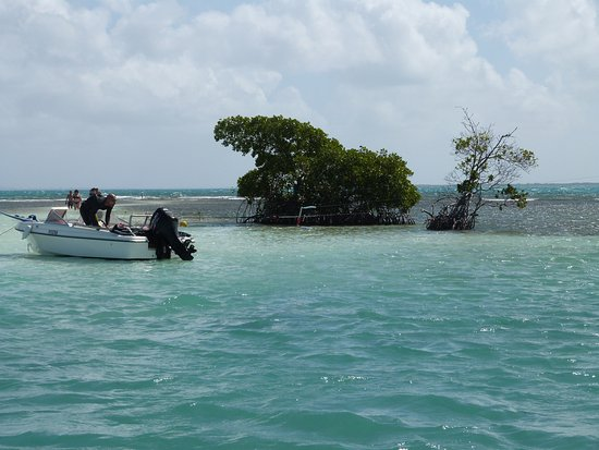 Le Gosier, Guadeloupe : cabane du pêcheur