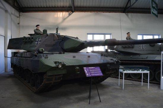 Musee des Blindes: Leopard II