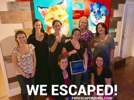 Arden, NC: Ladies Meetup Group - Escaped!