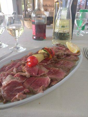 Lierna, Italie : Filetto di Manzo