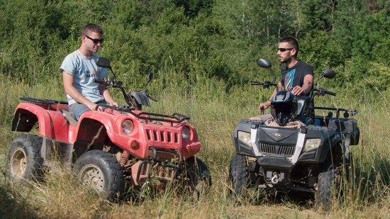 Slunj, Kroasia: Quad guides :)