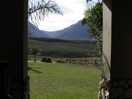 Riversdale, South Africa: View