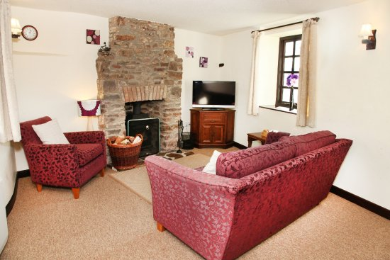 Great Torrington, UK: Annery Kiln living room