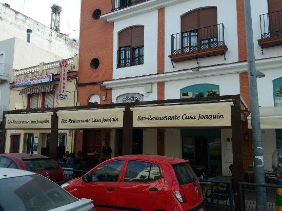 Los Palacios y Villafranca, Spanyol: Terraza