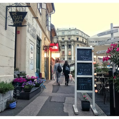 Zagreb County, Kroatien: Our street..romantic, old and beautiful...