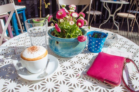Zagreb County, Kroatien: How You can enjoy in our terrace and our cappucino...