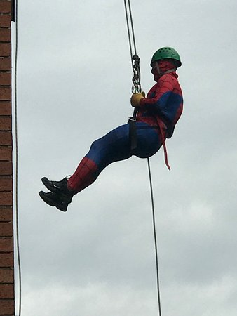 Chorley, UK: Charity sponsored abseil in Blackpool Lancashire a great charity event