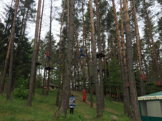 Rakaw, Belarus: На полосе препятствий