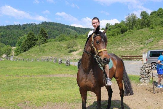 Брезно, Словакия: Jazdenie na koňoch