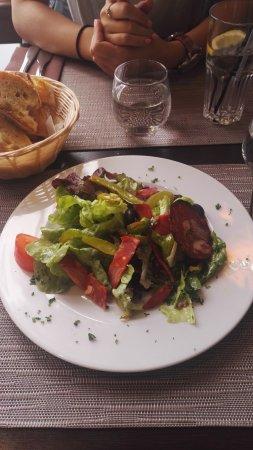 Chassieu, Francia: salade andalouse