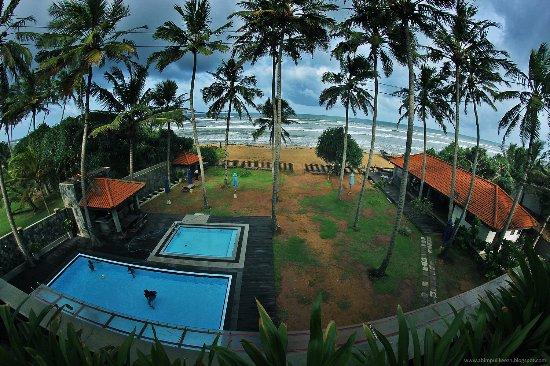 Panadura, Sri Lanka: View from BAlcony