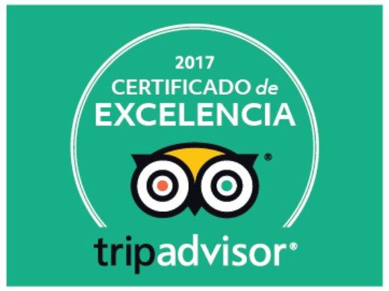 Sayalonga, Spanien: Por segundo año consecutivo nos han otorgado el Certificado de Excelencia 2017