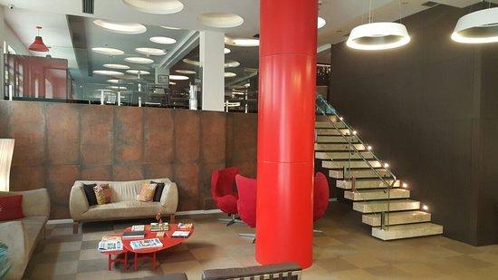 Arosa Rede Rio Hotel : Recepción del hotel