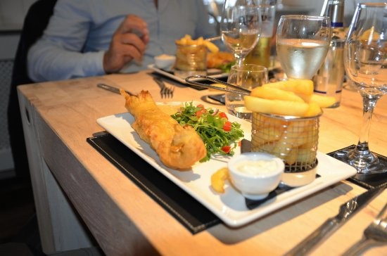 Glenrothes, UK: Fresh Fish & Chips