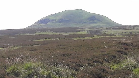 Falkland, UK: Looking back to East Lomond