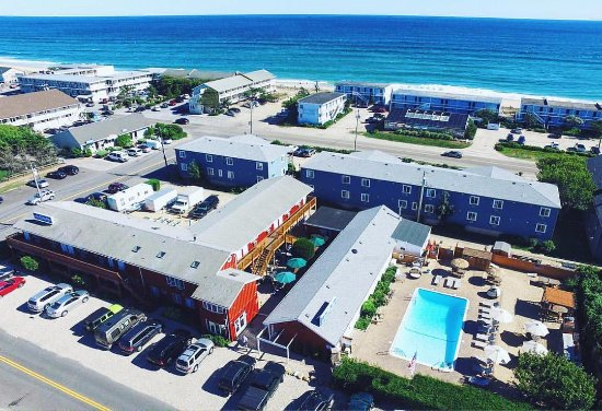 Daunt's Albatross Motel: View From Above