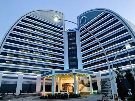 Turkmenbashi, เติร์กเมนิสถาน: Shamekan Otel... самый красивый ! Очень круто в нем!