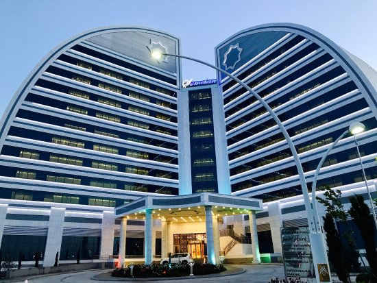 Туркменбашы, Туркменистан: Shamekan Otel... самый красивый ! Очень круто в нем!