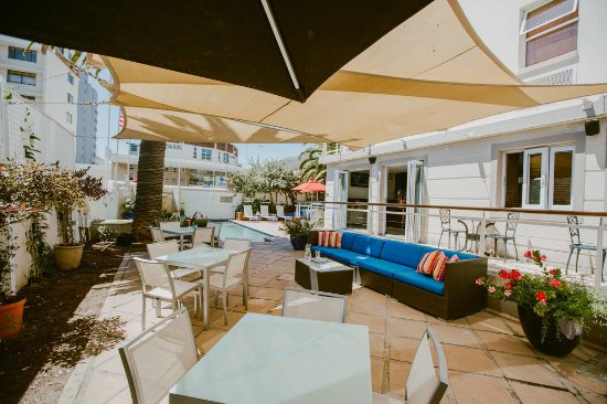 Bantry Bay, South Africa: Our tranquil terrace area