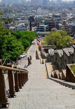 Suwon, Corea del Sur: the stairs