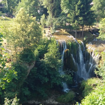 Slunj, Kroasia: Rastoke waterfalls