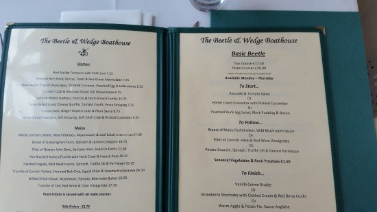 The beetle wedge boathouse moulsford on thames for Food and bar jine forbach