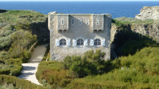 Sauzon, France : Fort de Sarah Bernhardt
