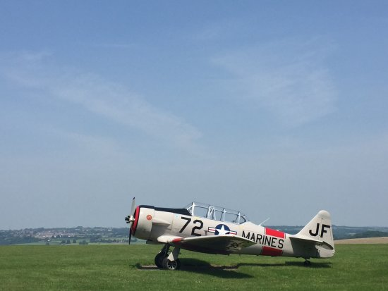 Shaftesbury, UK: one of the aircraft