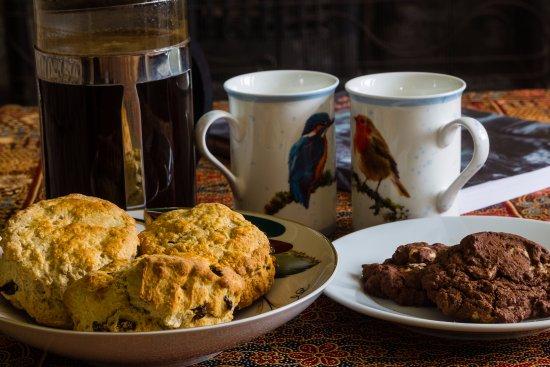 Blairgowrie, UK: Afternoon tea/coffee