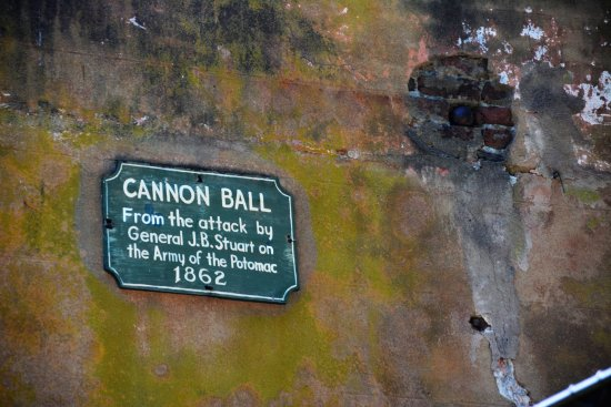 Charles City, VA: Cannon Ball hit