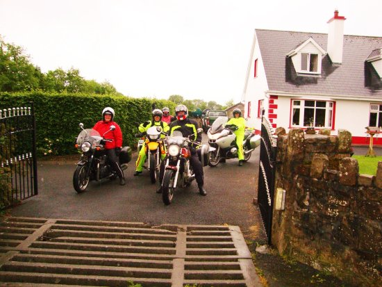 Mountshannon, Ierland: Bikers always Welcome,we have free toiletries so travel light!