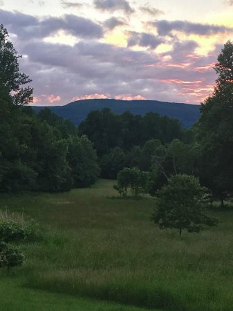 Crozet, VA: The view from the patio.