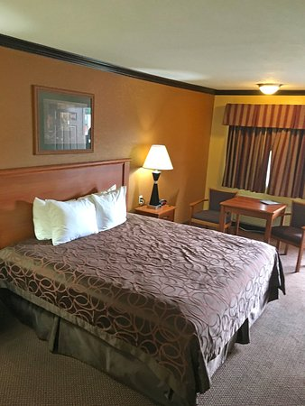 Center, TX: One King Bed