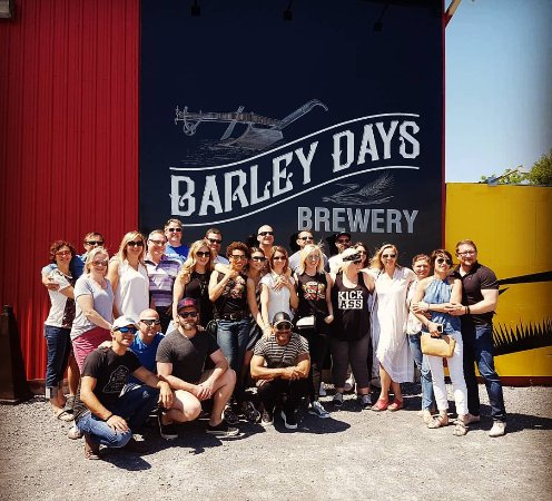 Barley Days Brewery : we can accommodate large brew tours