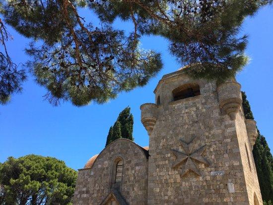 Filerimos, Grecja: Мальтийский крест заставит поинтересоваться историей этого прекрасного места