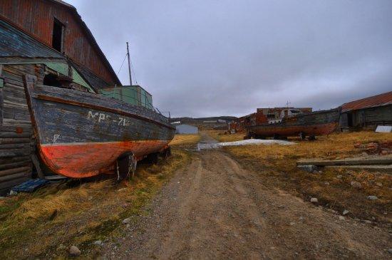 Murmansk Oblast, Russia: Хроники разрухи....