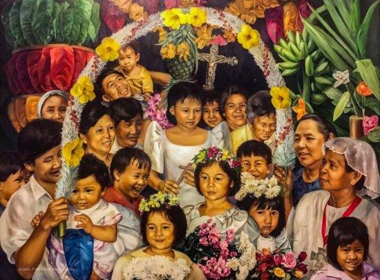 Luzon, Filipinas: Santa Cruzan by Jan Blanco.