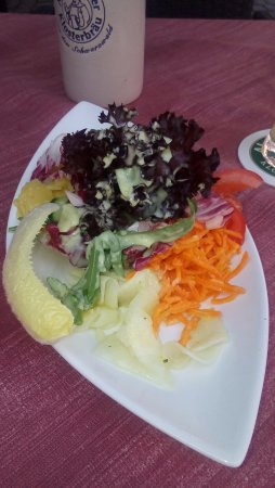 Calw, Germany: Appetizer of vegetables