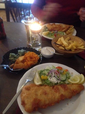 Sneem, ไอร์แลนด์: No chance of going hungry.
