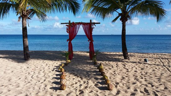 Galley Bay Resort: Wedding site