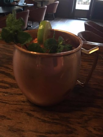 Statesville, NC: Enjoy a refreshing Moscow Mule with fresh lime and mint!
