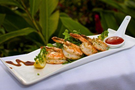 Windwardside, Saba: Appetizers