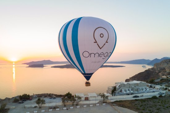 Karteradhos, Greece: Hot air balloon rides by Omega Travel