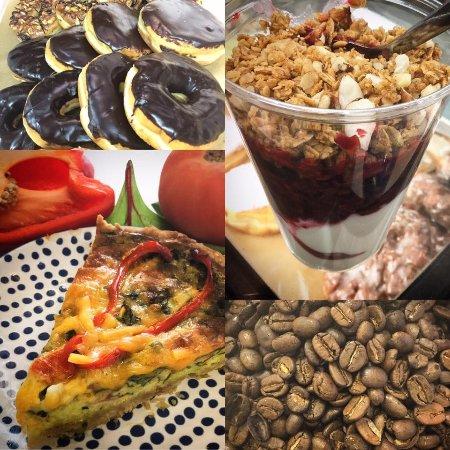 Cottage Grove, Миннесота: BREAKFAST! QUICHE, DONUTS, YOGURT, COFFEE & LOOSE LEAF TEAS!