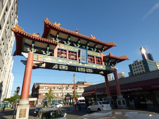 Chinatown International District : arch